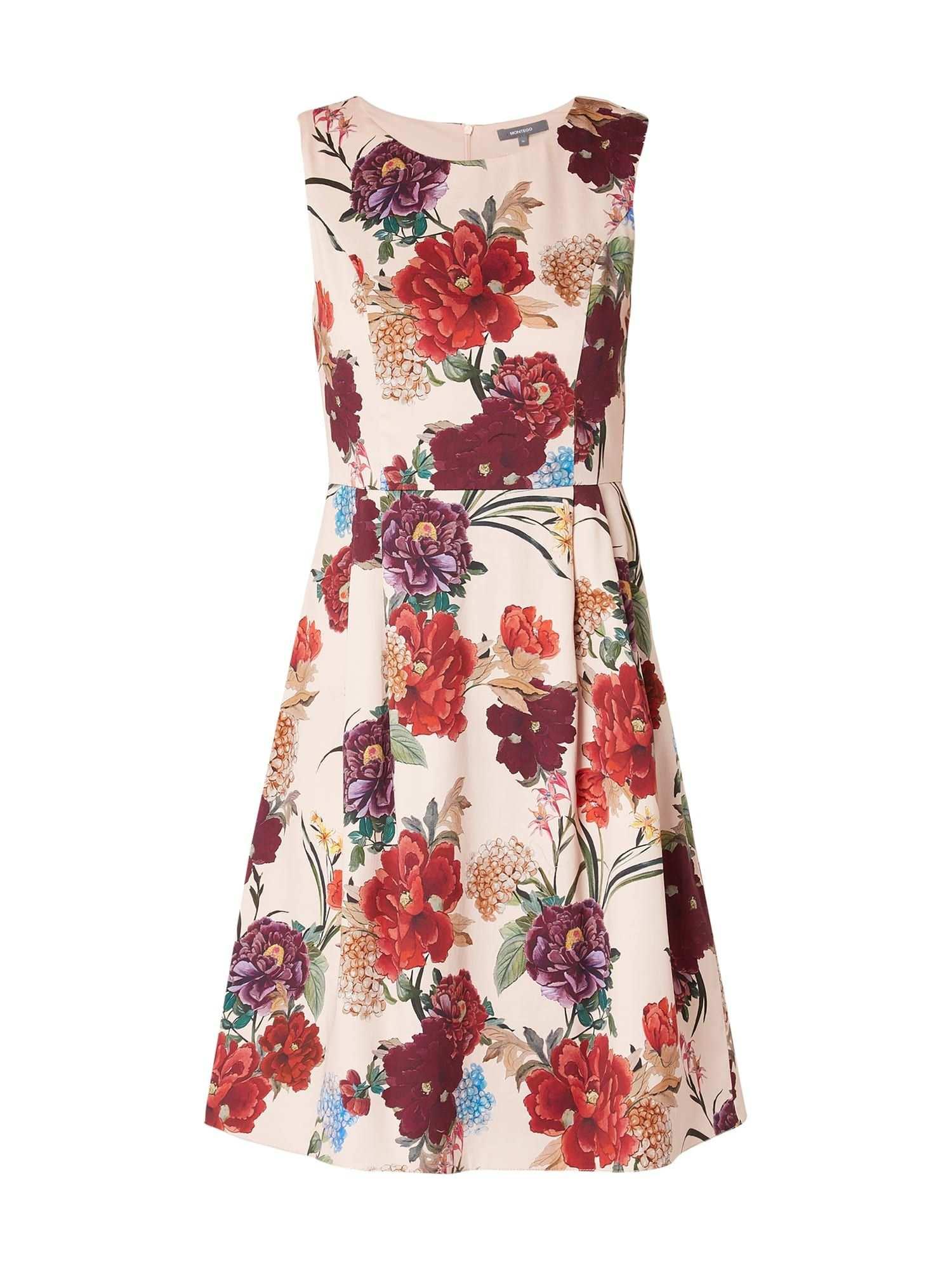 Bei P C Freizeitkleider Von Montego Jetzt Montego Kleid Mit Floralem Muster In Rose Online Kaufen 9813640 Freizeitkleider Kleider Floral Muster