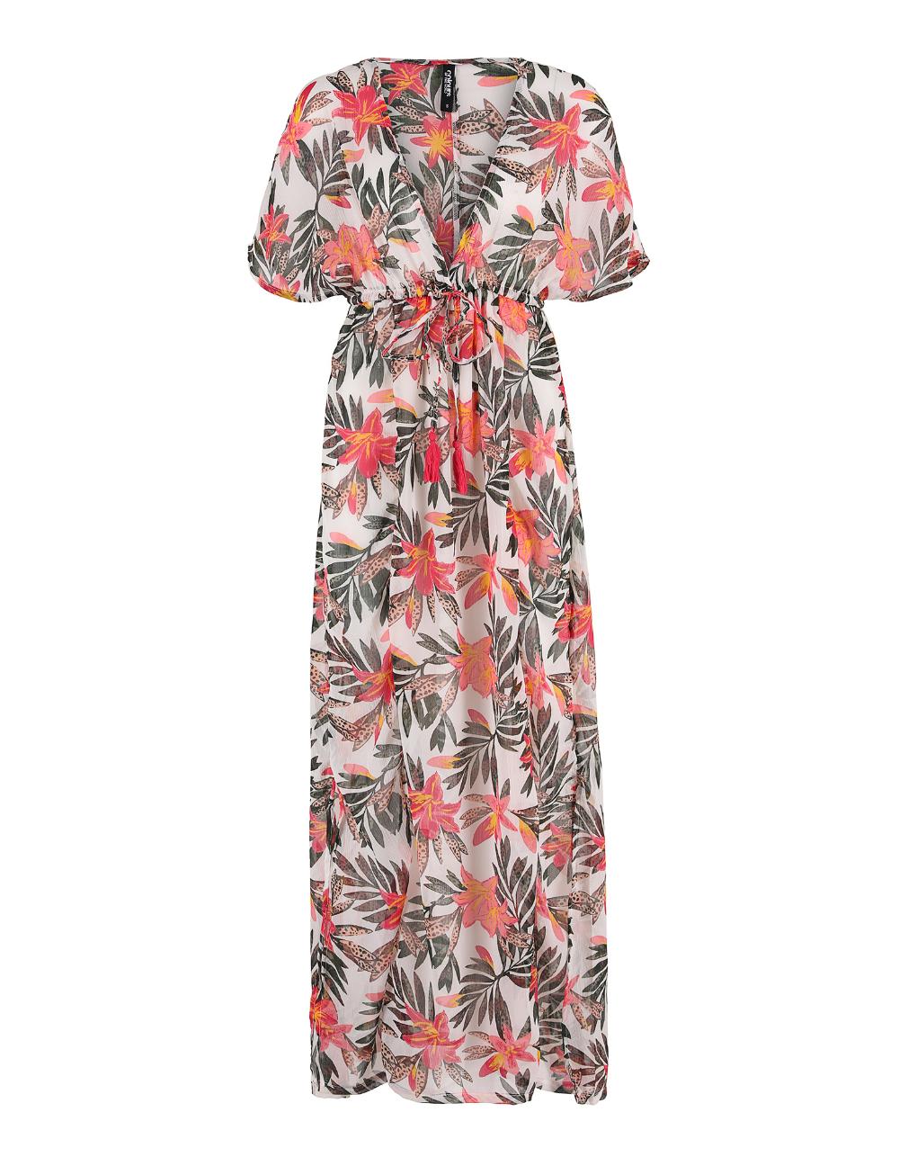 Damen Kaftan Mit Floralem Muster Takko Fashion In 2020 Floral Muster Sommer Accessoires Modestil