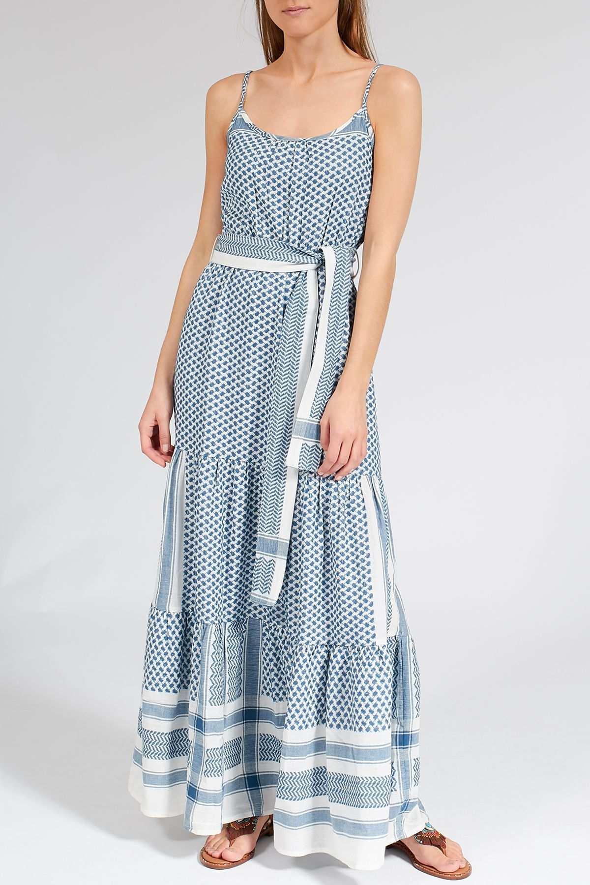 Maxi Kleid Rosa Mit Kufiya Muster Kleider Maxi Kleider Kufiya