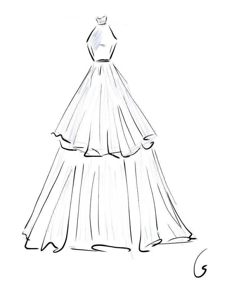 Design Fashion Draw Design Fashion In 2020 Modezeichnung Kleider Zeichnen Mode Zeichnen