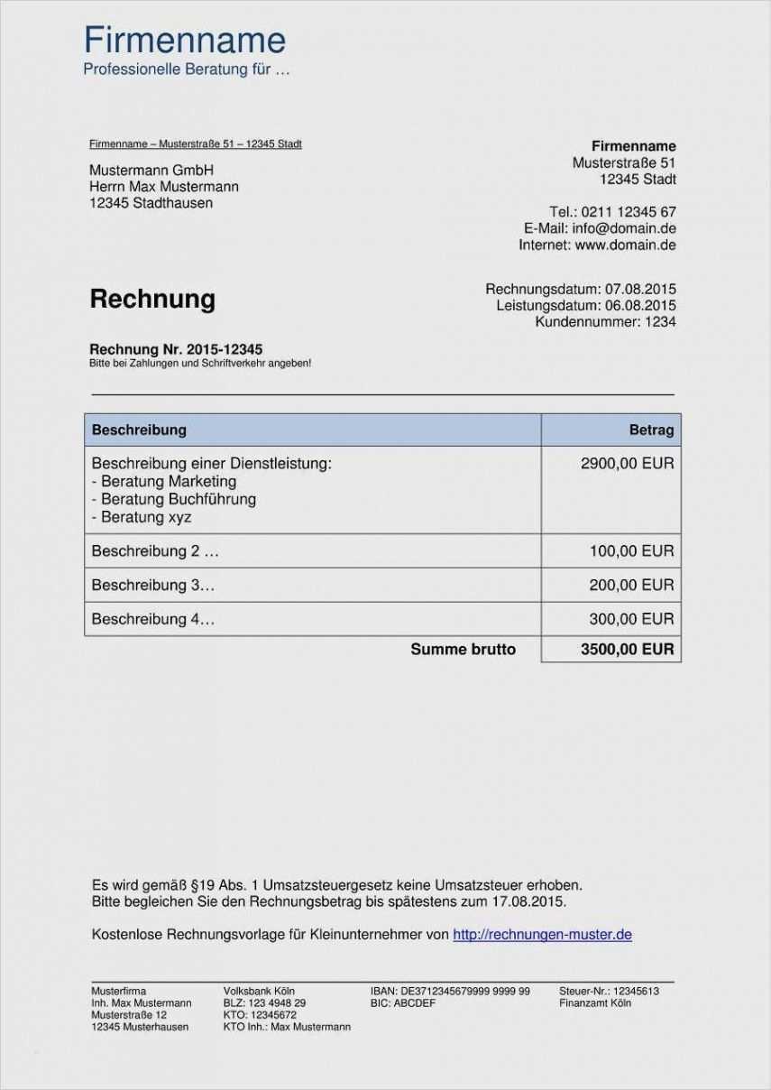 Durchsuche Unsere Kostenlos Von Coaching Rechnung Vorlage Rechnung Vorlage Rechnungsvorlage Vorlagen
