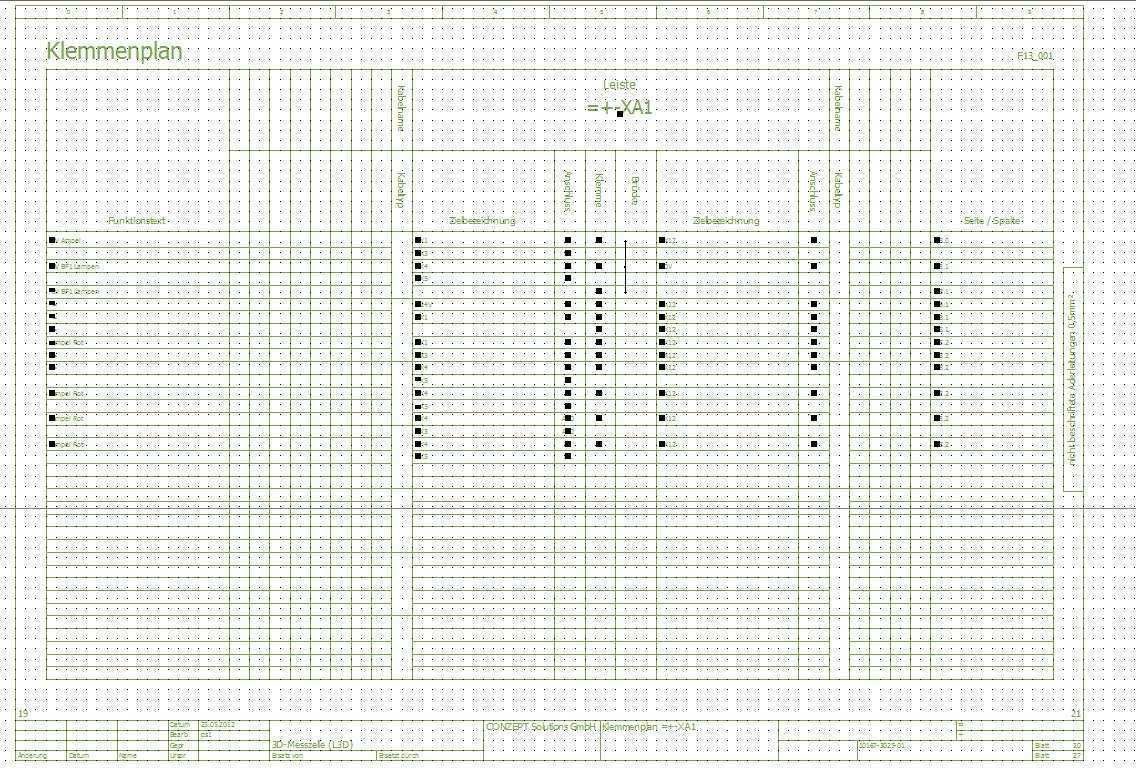 Klemmenplan Auswertung Elektrotechnik Eplan Electric P8 Foren Auf Cad De