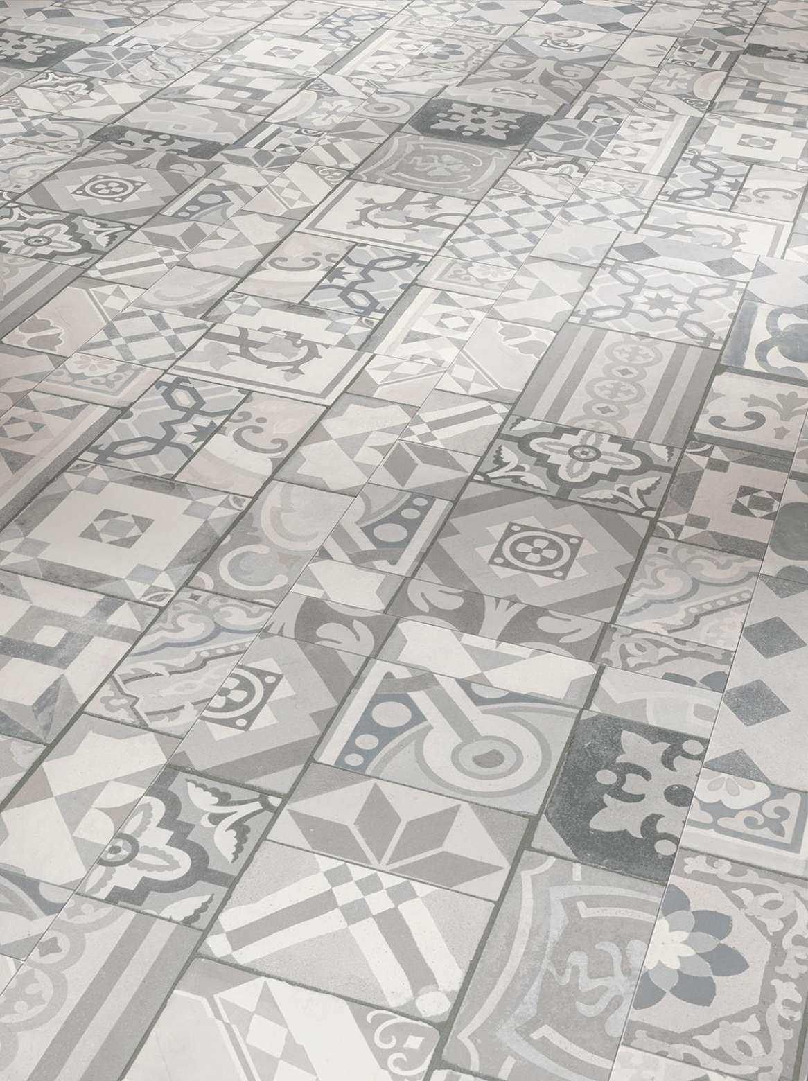 Parador Trendtime 5 50 Zum Klicken Ornamentic Grey Mineralstruktur 1602133 Vinylboden Vinyl Laminat Vinylboden Fliesenoptik