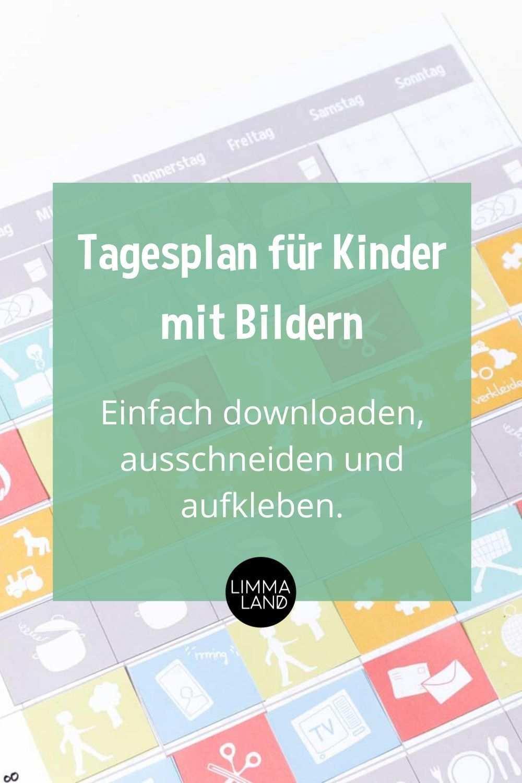 Wochenplan Fur Kinder Basteln Download Plus Tipps Zur Beschaftigung Tagesplane Fur Kinder Wochenplan Zum Ausdrucken Wochen Planer