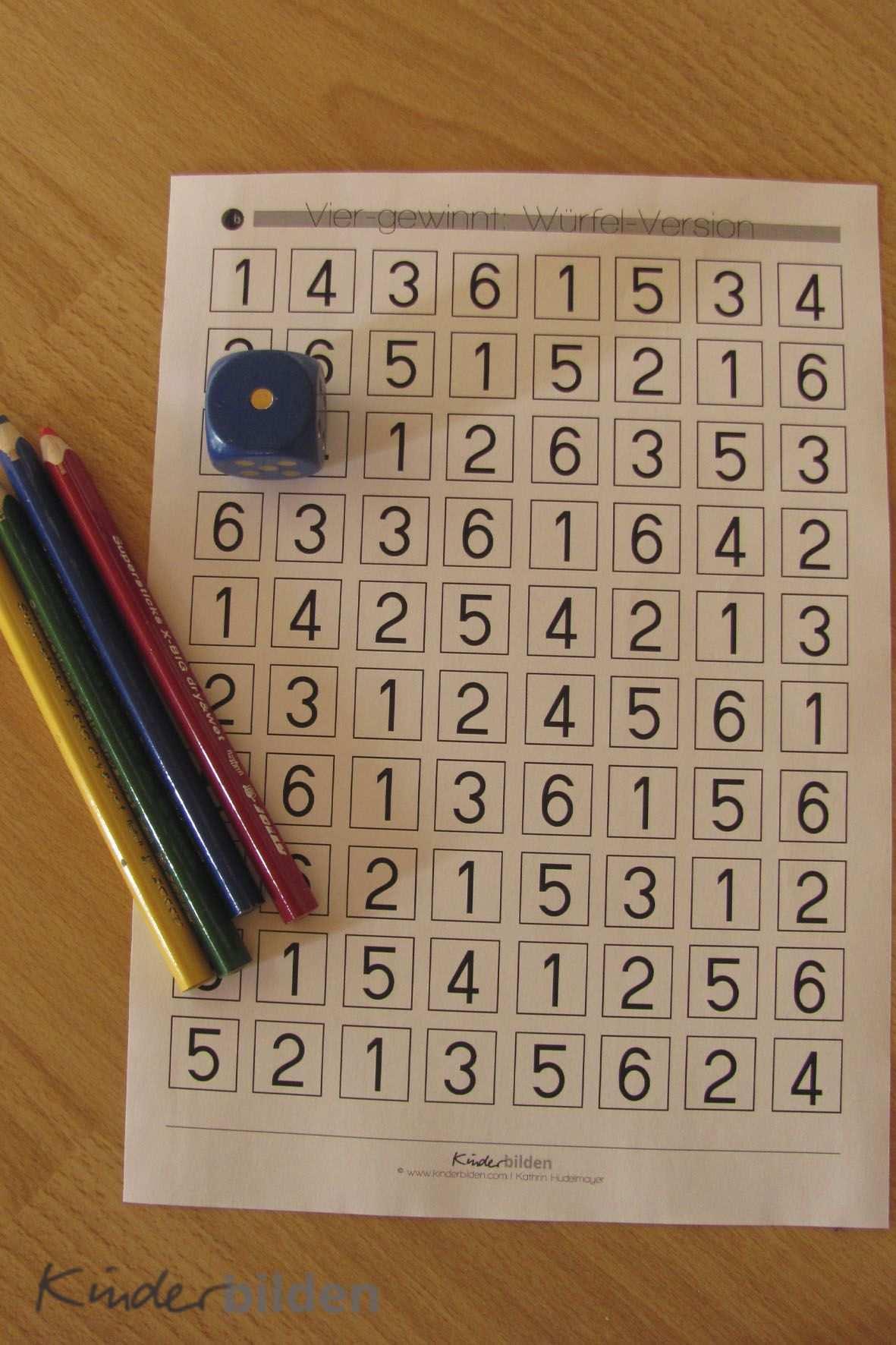 In Diesem Artikel Mochte Ich Dir 5 Ideen Und Spiele Vorschlagen Die Du Mit Wurfel Papier Und Stiften Umsetzen Kannst U Mathe Fur Vorschulkinder Mathe Lernen