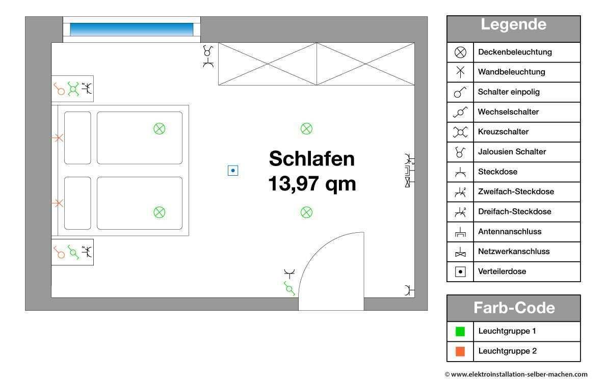 Elektroinstallation Planen Schlafzimmer Elektroinstallation Elektroinstallation Planen Elektroinstallation Selber Machen
