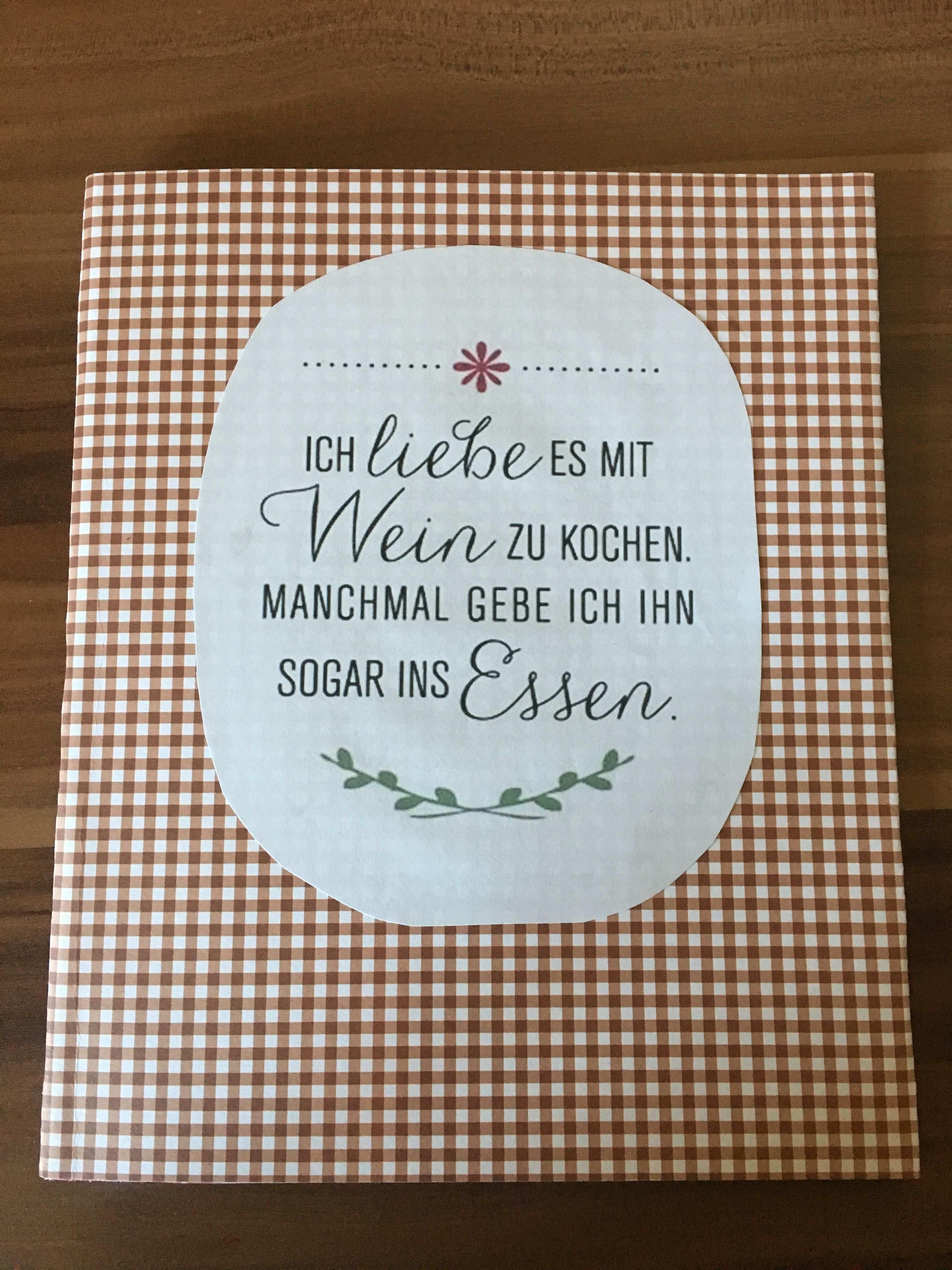 Kochbuch Mit Spruch Deckblatt Ich Liebe Es Mit Wein Zu Kochen Manchmal Gebe Ich Kochbuch Selbst Gestalten Vorlage Kochbuch Selbst Gestalten Kochbuch Vorlage