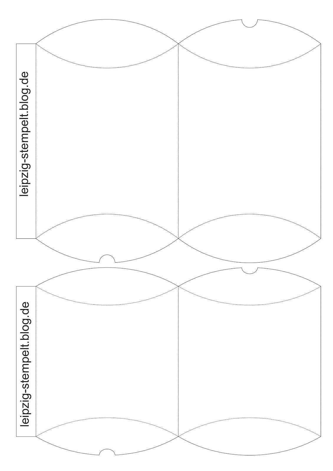 Stampin Up Druckvorlage Anleitung Pillowbox Verpackung Download Schachteln Basteln Geschenkbox Basteln Weihnachten Geschenkbox Selber Basteln