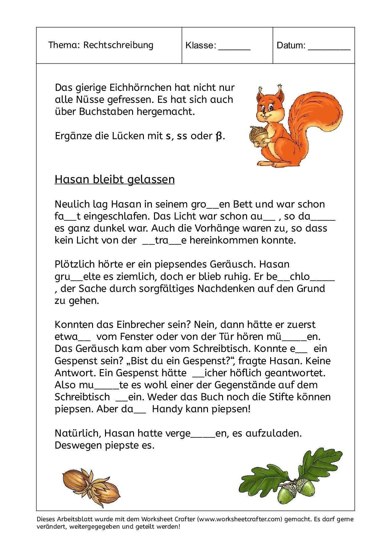 Hier Finden Sie Einige Beispiel Arbeitsblatter Die Allesamt Mit Dem Worksheet Crafter Erstellt Wurden Sie Durfe Rechtschreibung Deutsch Lernen Rechnen Lernen