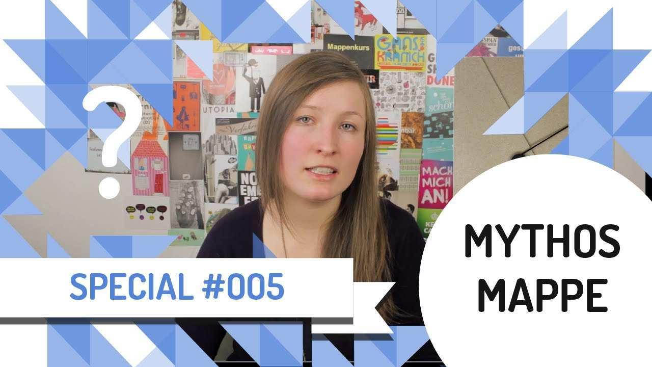 Mythos Mappe In 10 Schritten Zur Optimalen Design Bewerbungsmappe Youtube