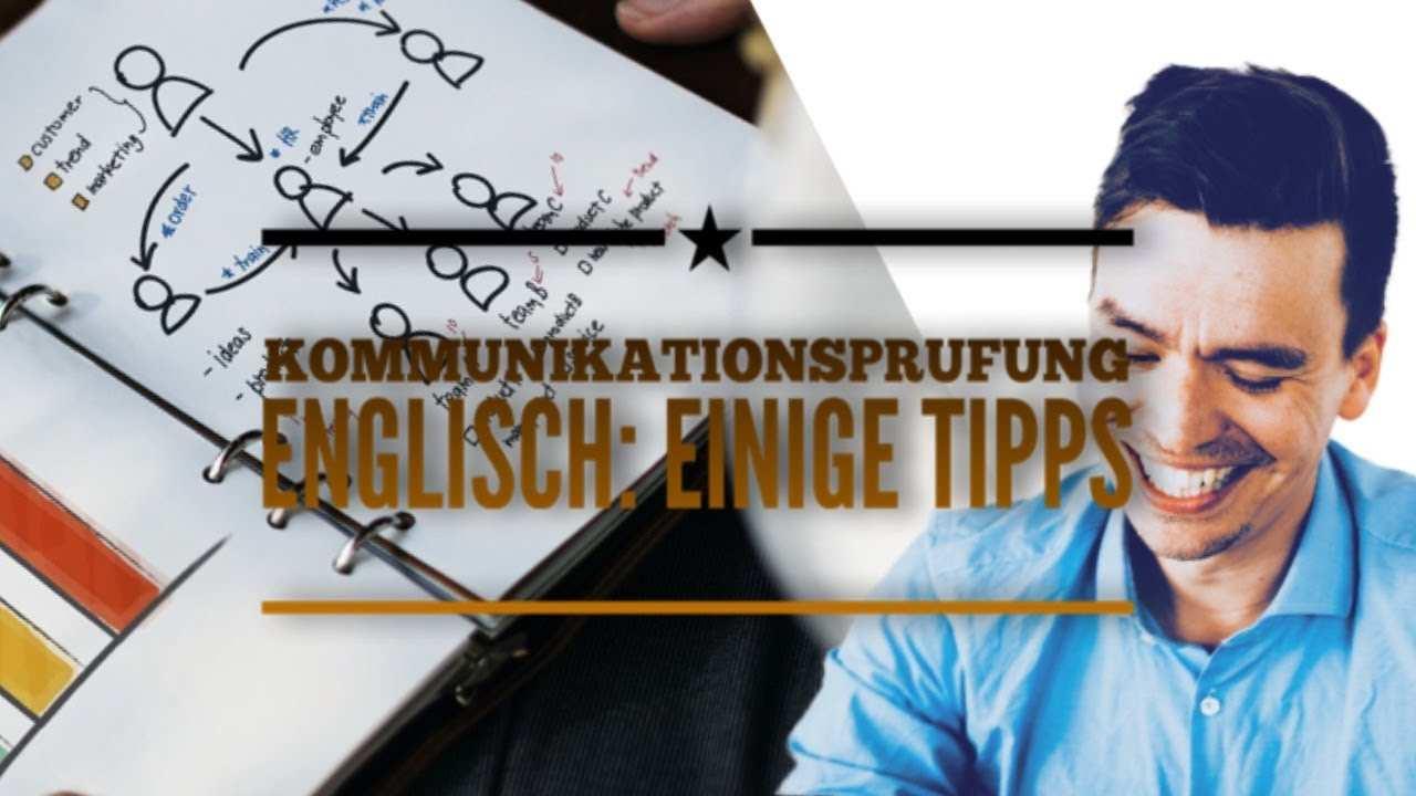 Kommunikationsprufung Englisch Einige Tipps Youtube