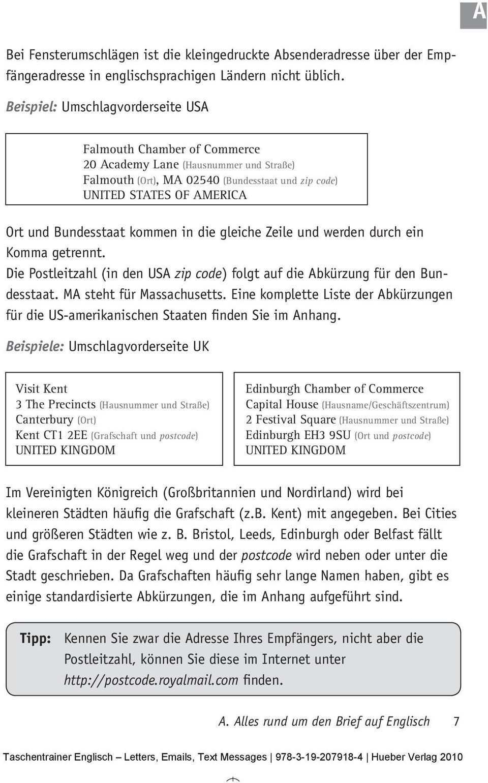 A Alles Rund Um Den Brief Auf Englisch A1 Germany Pdf Free Download