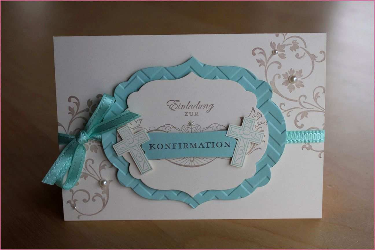 Nett Konfirmation Einladung Vorlage Einladung Gestalten Einladung Konfirmation Karten Kommunion
