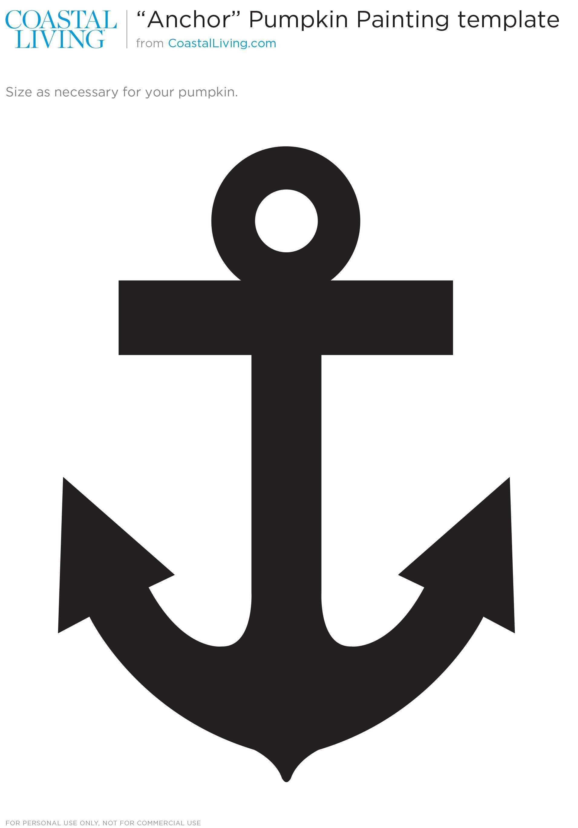 Www Coastalliving Com Sites Default Files Image 2015 09 Main Cl Anchor Template Jpg Fensterbilder Vorlagen Anker Vorlage Vorlagen