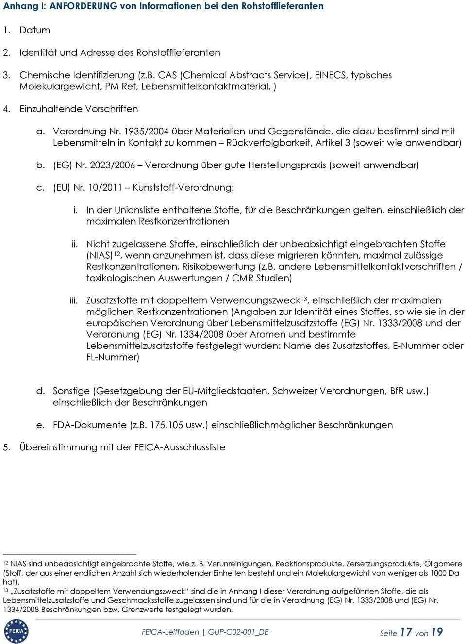 Leitfaden Fur Eine Lebensmittelrechtliche Statuserklarung Fur Klebstoffe Pdf Free Download