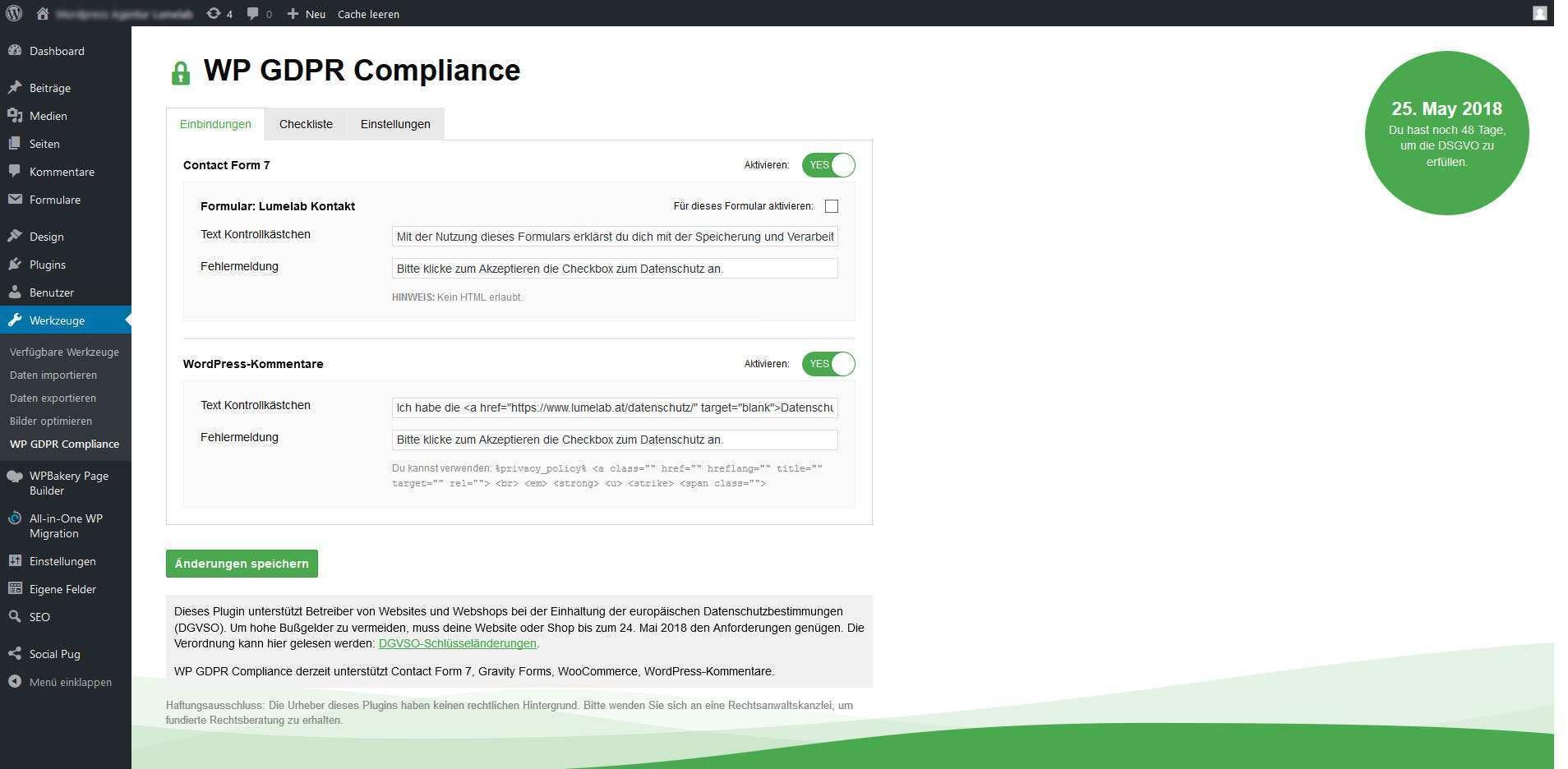 Formulare Kommentare Blog Wordpress Agentur Lumelab