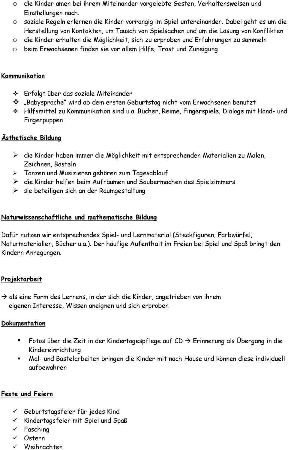 Konzeption Kindertagespflege Uta Neubauer Pdf Kostenfreier Download