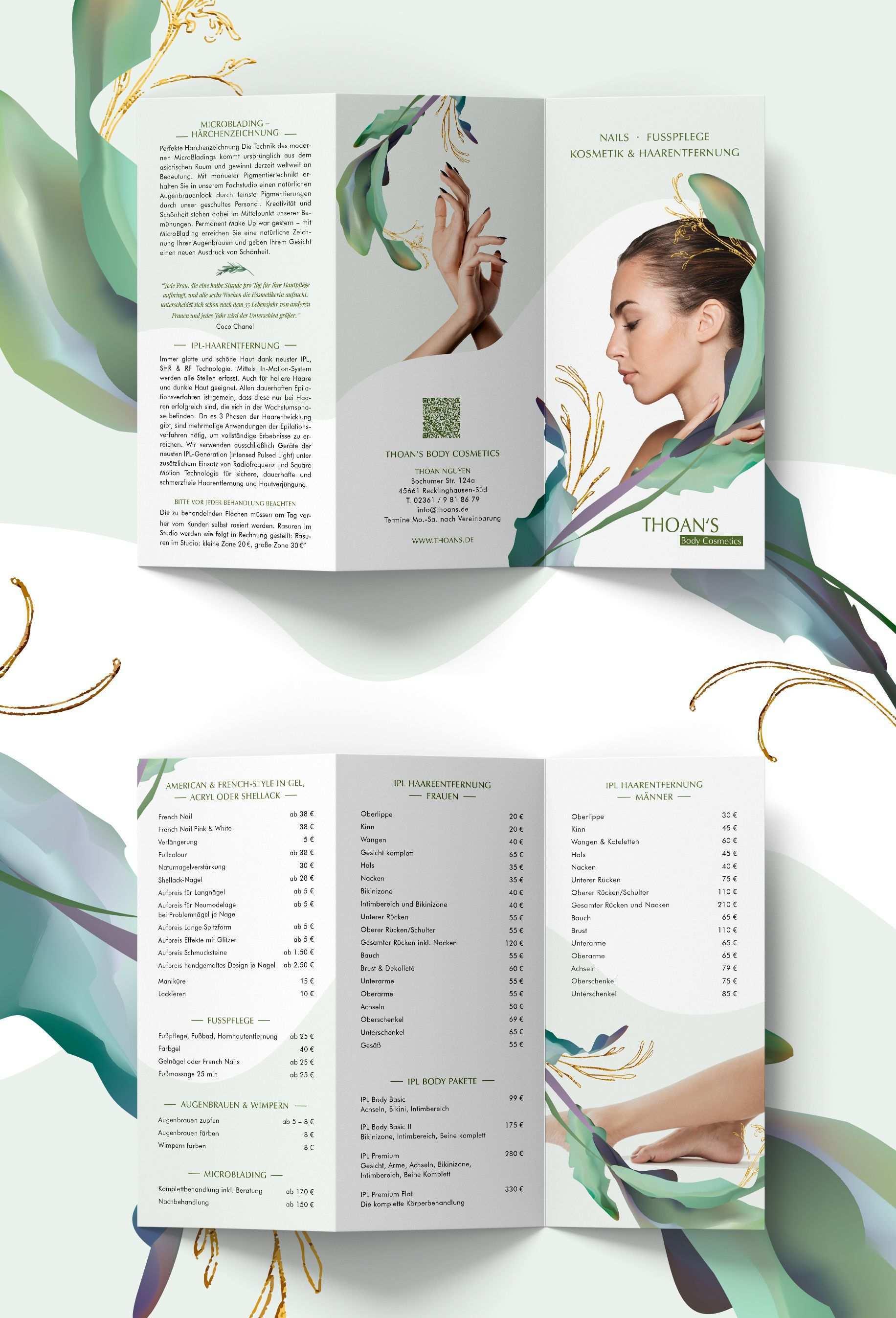 Creative Flyer Design In 2020 Kosmetikerin Kosmetik Oberlippe