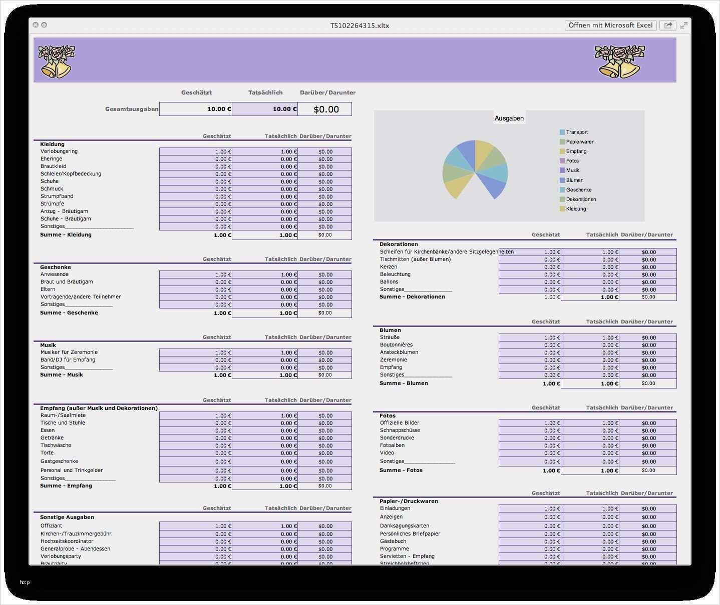 32 Gut Excel Vorlagen Kostenaufstellung Bilder Excel Vorlage Vorlagen Deckblatt Vorlage