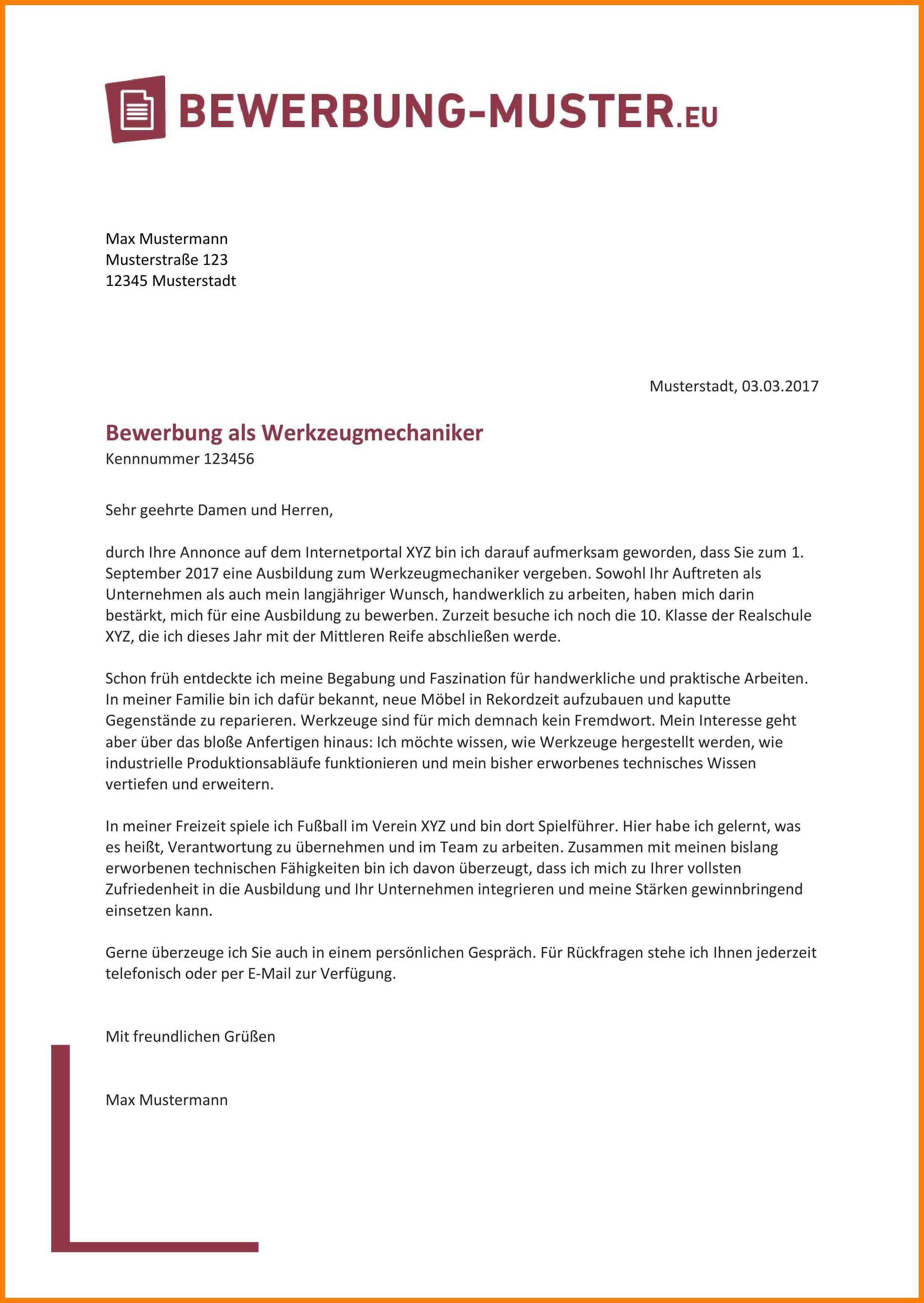 Einzigartig Bewerbung Nach Ausbildung Muster Briefprobe Briefformat Briefvorlage Bewerbung Schreiben Lebenslauf Vorlage Schuler Lebenslauf Muster