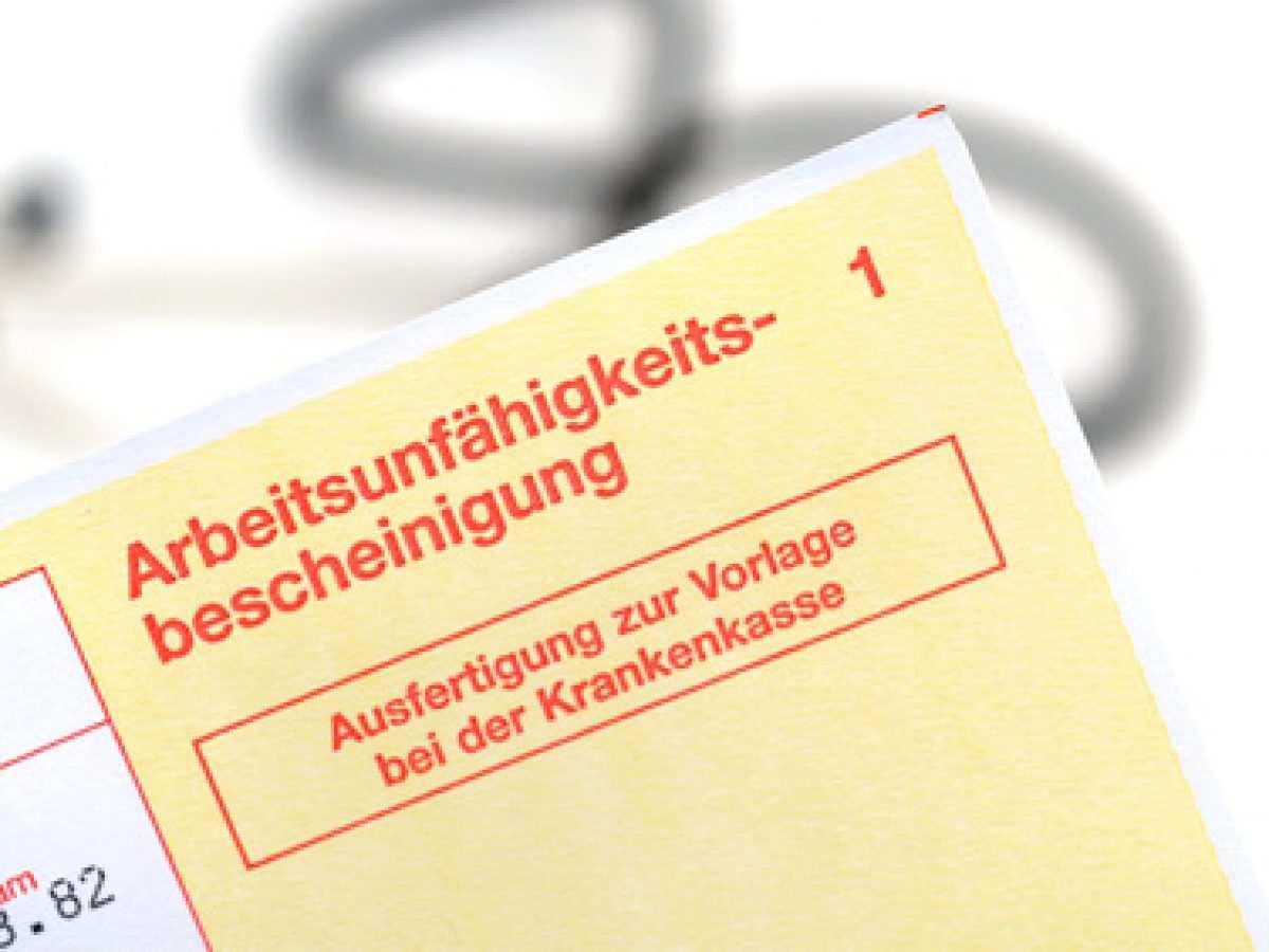 Arbeitgeber Kann Krankmeldung Grundsatzlich Ab Erstem Krankheitstag Verlangen Thorsten Blaufelder