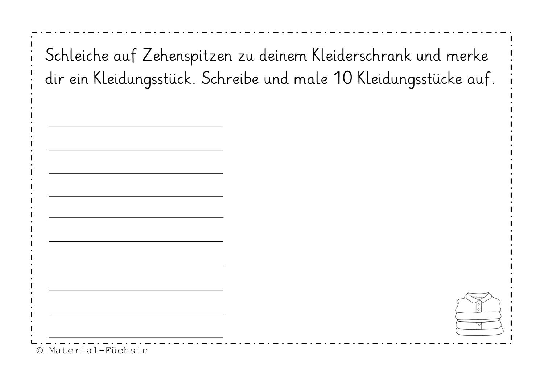 Schreiben Und Bewegung 2 Unterrichtsmaterial In Den Fachern Deutsch Fachubergreifendes Schreibaufgaben Schreiben Lernen Schreiben