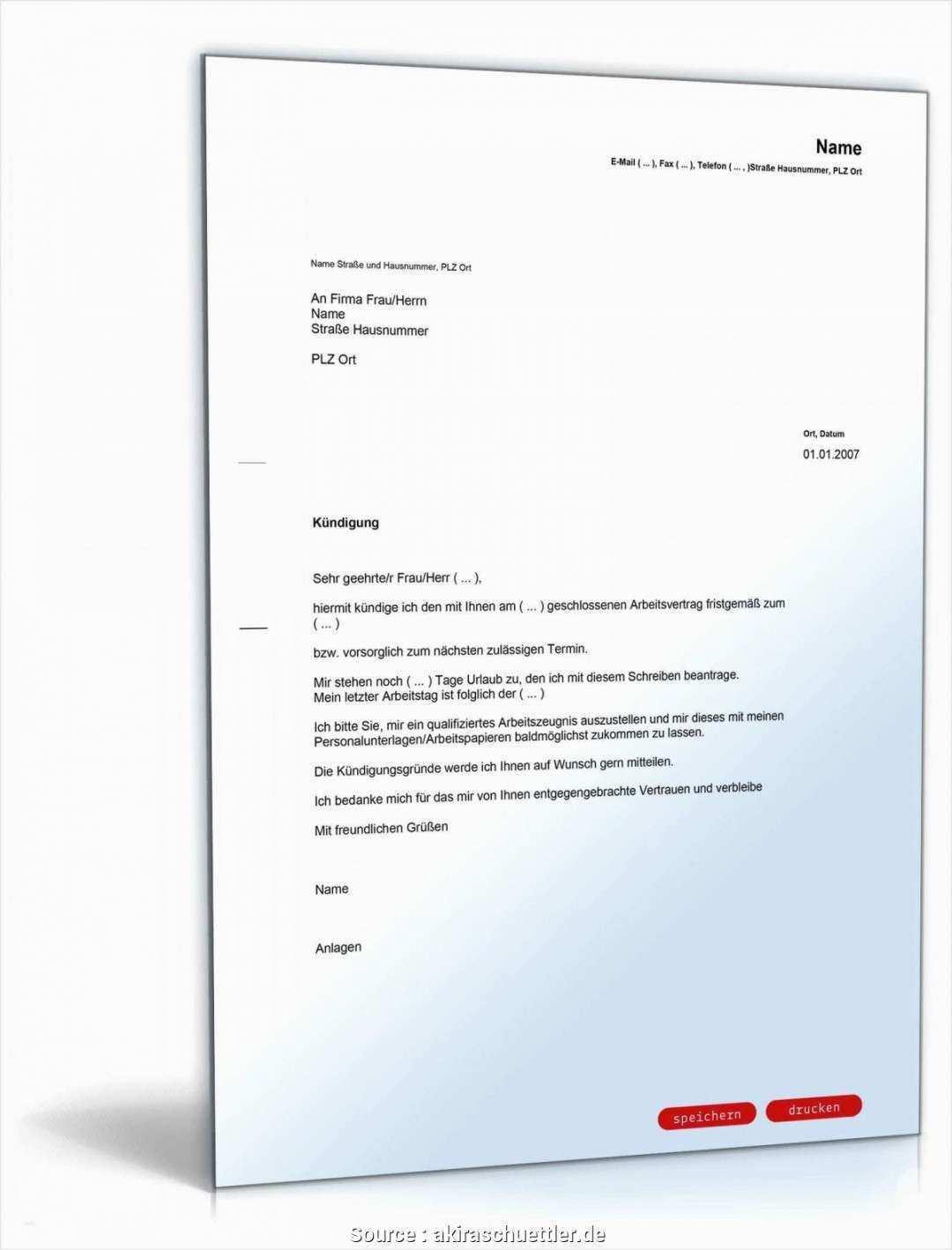 Kundigung In Der Probezeit Vorlage Arbeitnehmer Probezeit Vorlagen Word Vorlagen