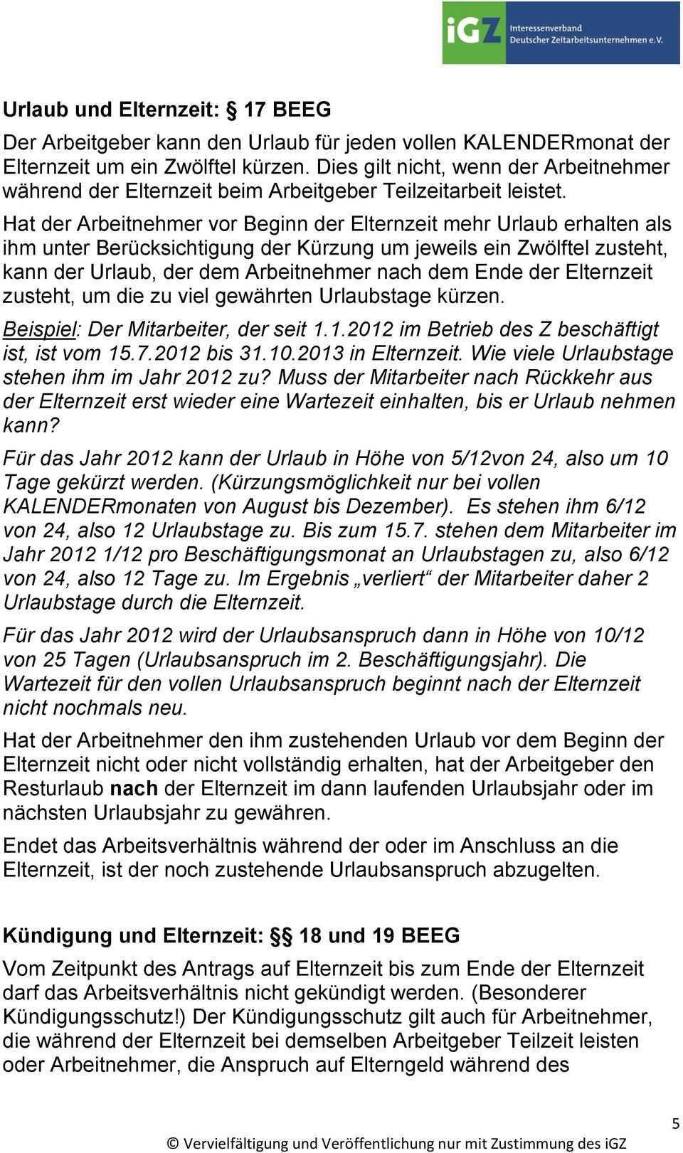 Infoblatt Mutterschutz Und Elternzeit Pdf Free Download