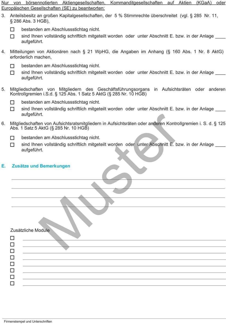 Vollstandigkeitserklarung Muster Erstellung Des Jahresabschlusses Fur Das Geschaftsjahr Die Zeit Vom Bis 1 Pdf Free Download