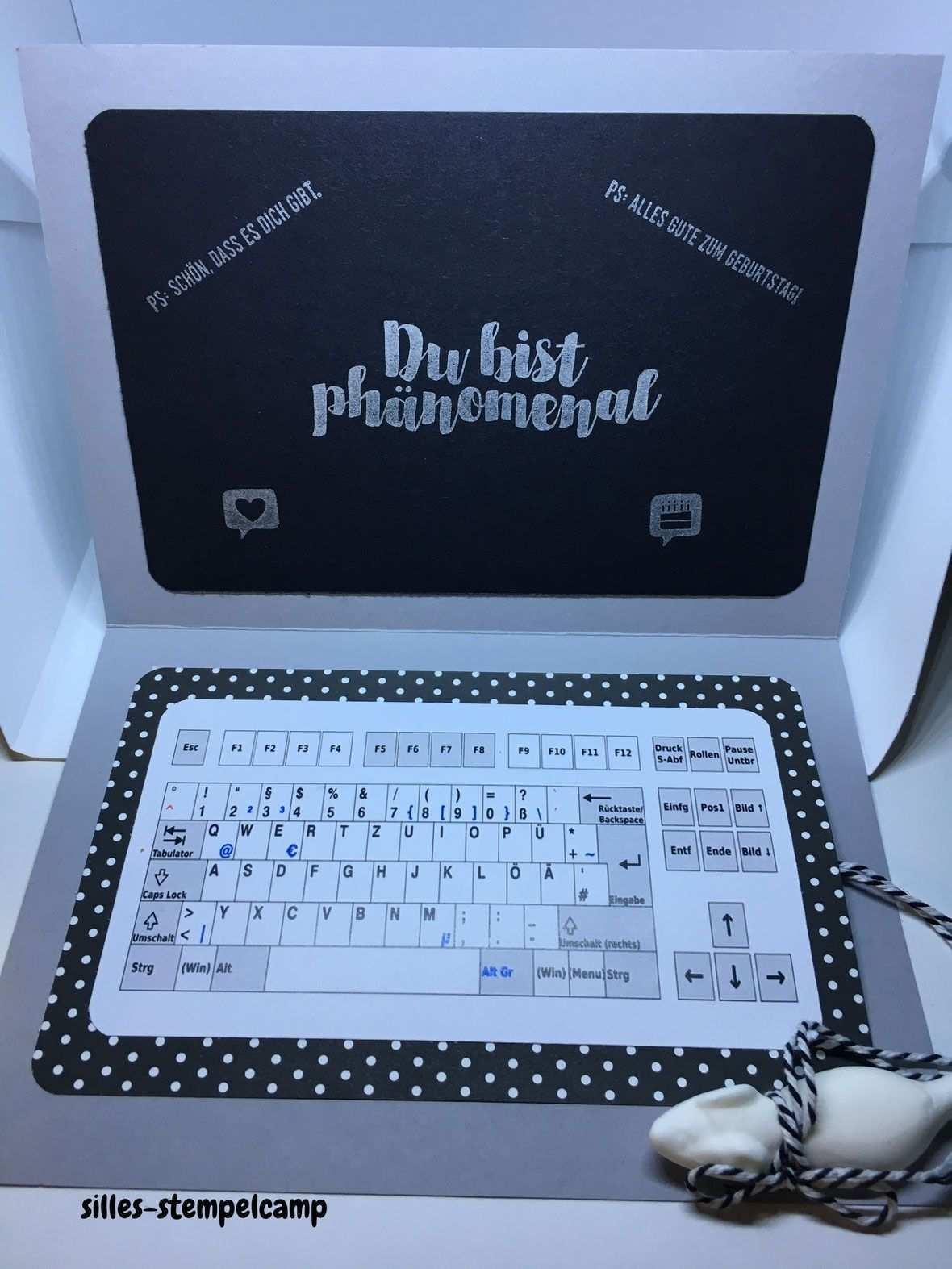 Gutscheinkarte Laptop Gutscheinkarten Geschenke Verpacken Kinder Gutschein Geschenke