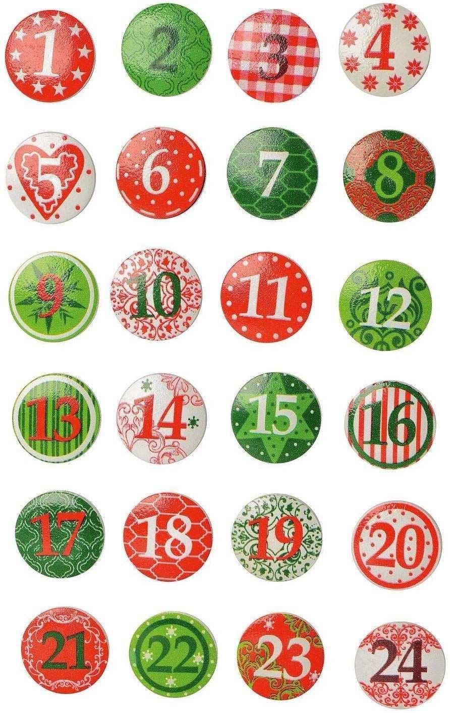 Vbs 24 Adventszahlen Button Adventskalender Basteln Weihnachten Advent Amazon De S Advent Und Weihnachten Basteln Adventskalender Basteln Basteln Weihnachten