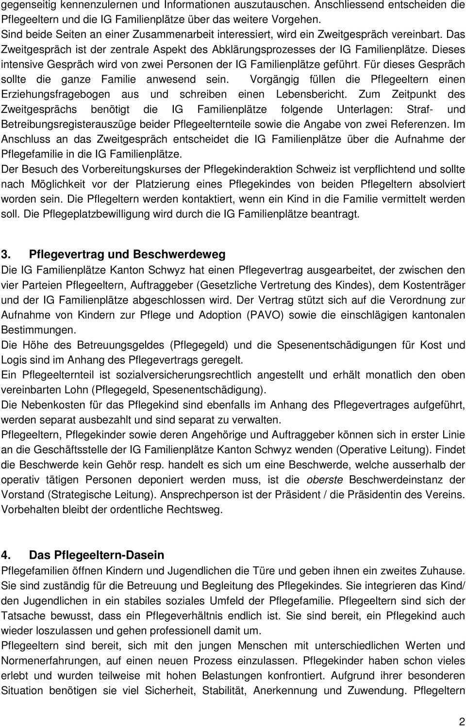 Leitfaden Fur Pflegeeltern Pdf Kostenfreier Download