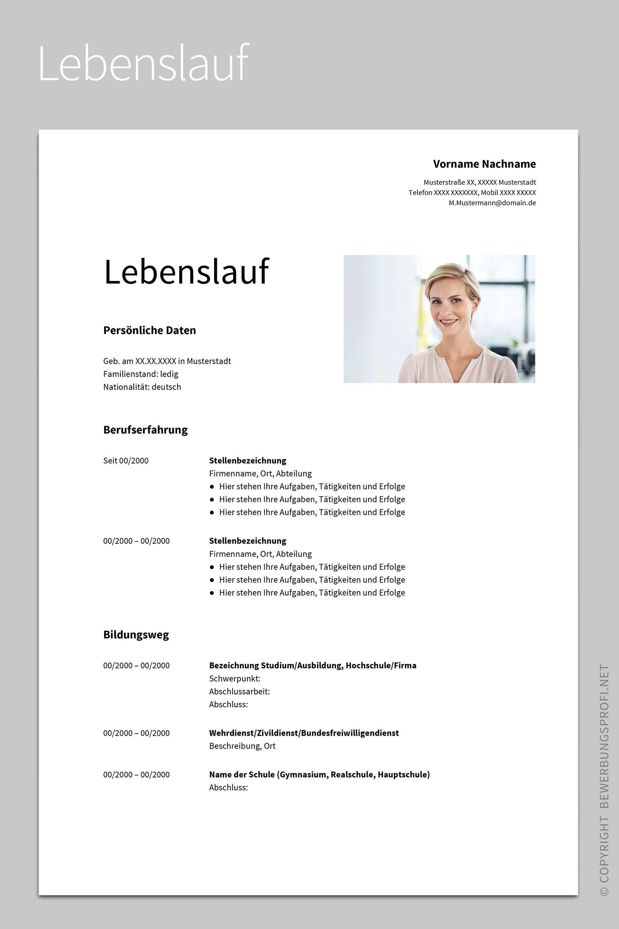 30 Lebenslauf Design Vorlage Download Lebenslauf Lebenslauf Design Lebenslauf Design Vorlage