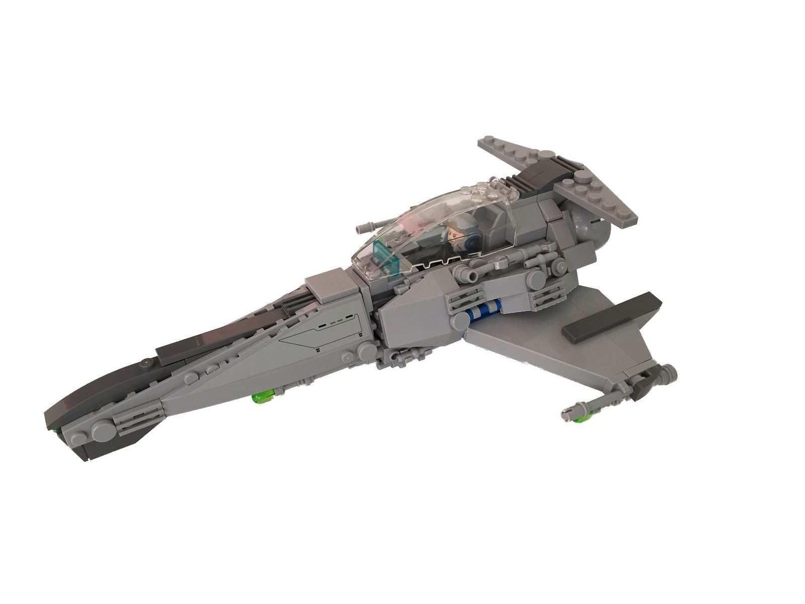 Generic Starfighter Starfighter Lego Design Lego Spaceship