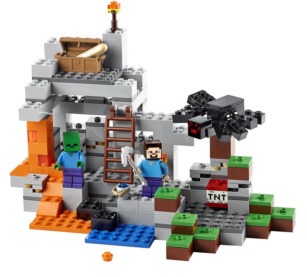 Revelan Nuevos Sets Lego De Minecraft Lego Minecraft Lego Lego Shop