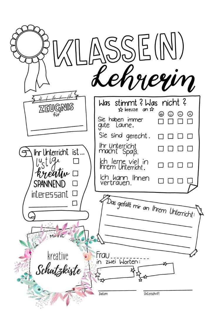 Lehrer Zeugnis Zeugnisse Feedback Ruckmeldung Doodle Sketchnotes Zeugnis Grundschule Abschiedsgeschenk Lehrerin Grundschule Lehrer
