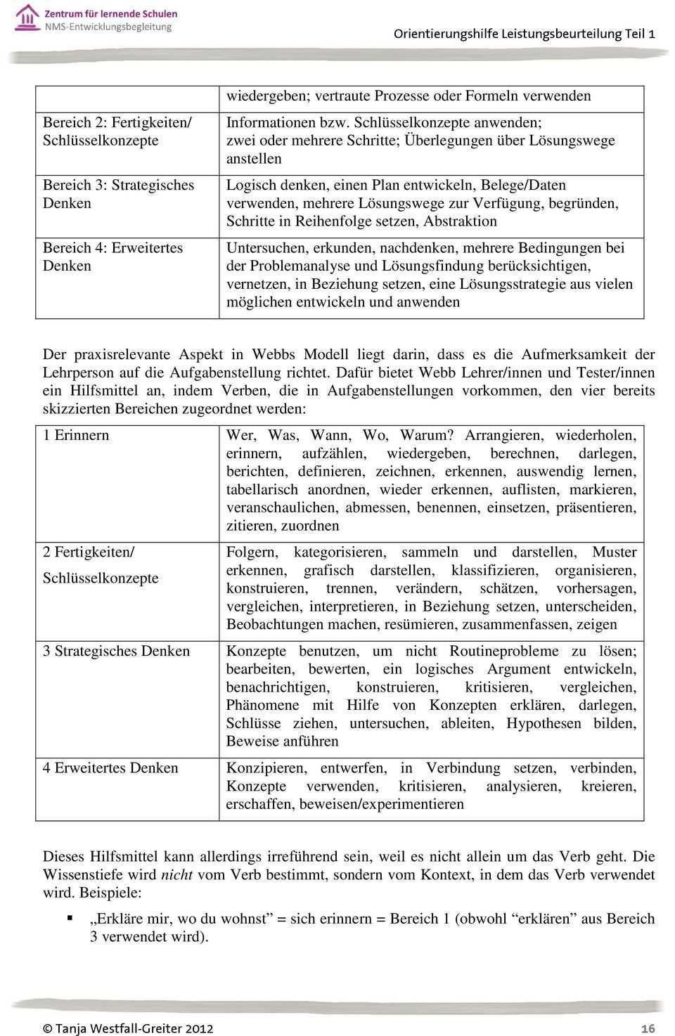 Orientierungshilfe Leistungsbeurteilung Teil 1 Grundlagen Und Begriffe Tanja Westfall Greiter Pdf Kostenfreier Download