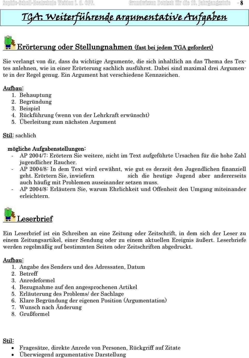 Einleitung Titel Des Textes Name Des Verfassers Quelle Kerninhalt Pdf Kostenfreier Download