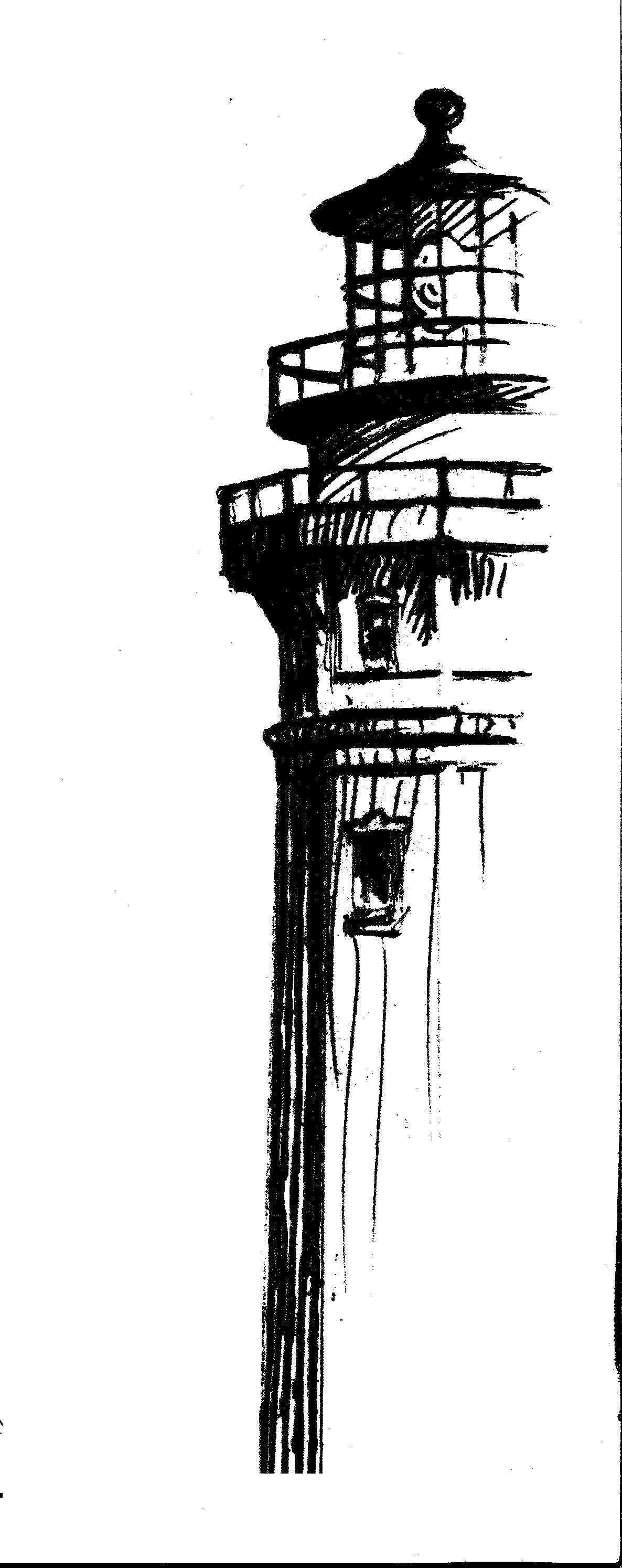 leuchtturm malen vorlage