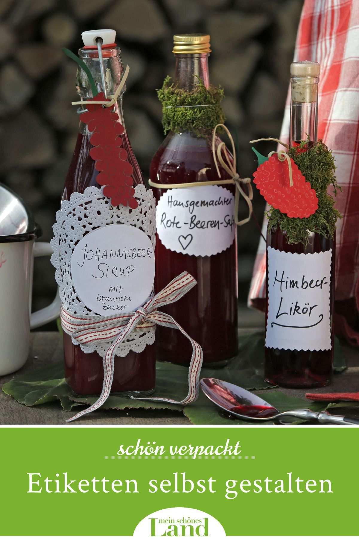 Flaschen Etiketten Selbst Gestalten Etiketten Gestalten Etiketten Selber Machen Etiketten Fur Flaschen