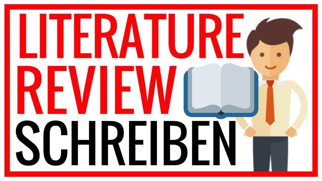 Literature Review Schreiben In 3 Schritten Zum Aktuellen Forschungsstand Youtube