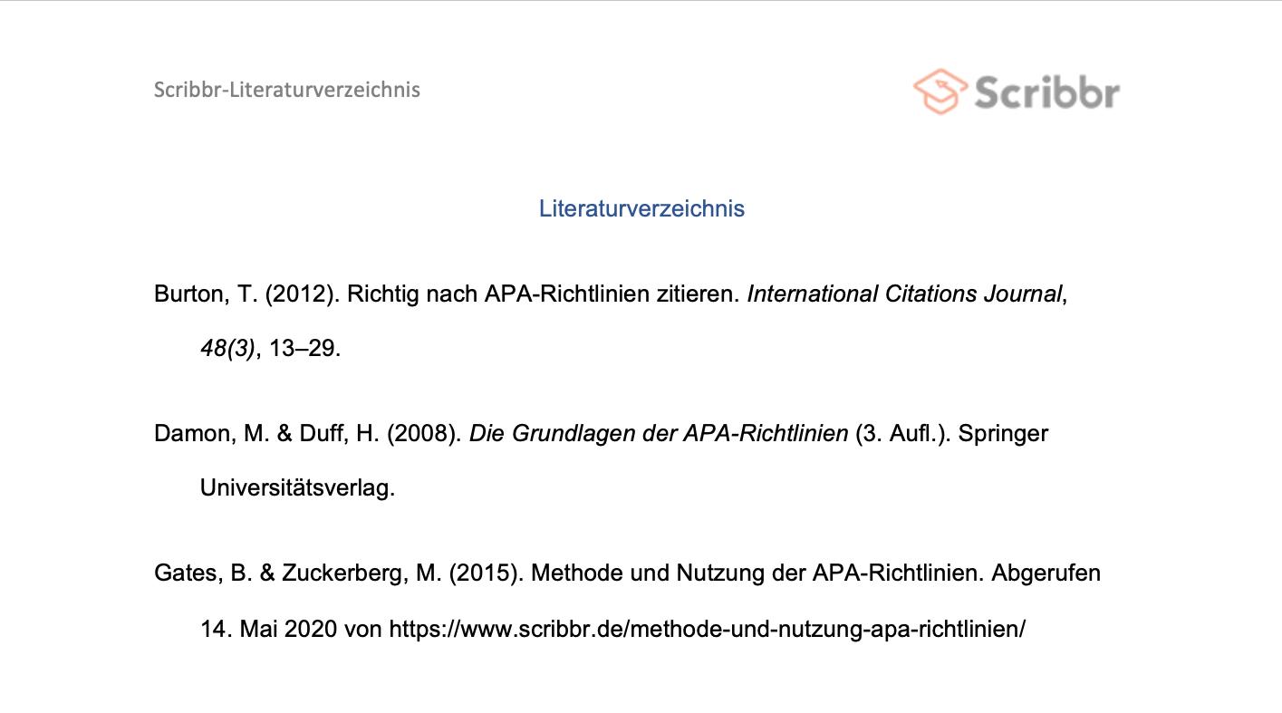 Das Perfekte Literaturverzeichnis Anleitung Und Vorlagen