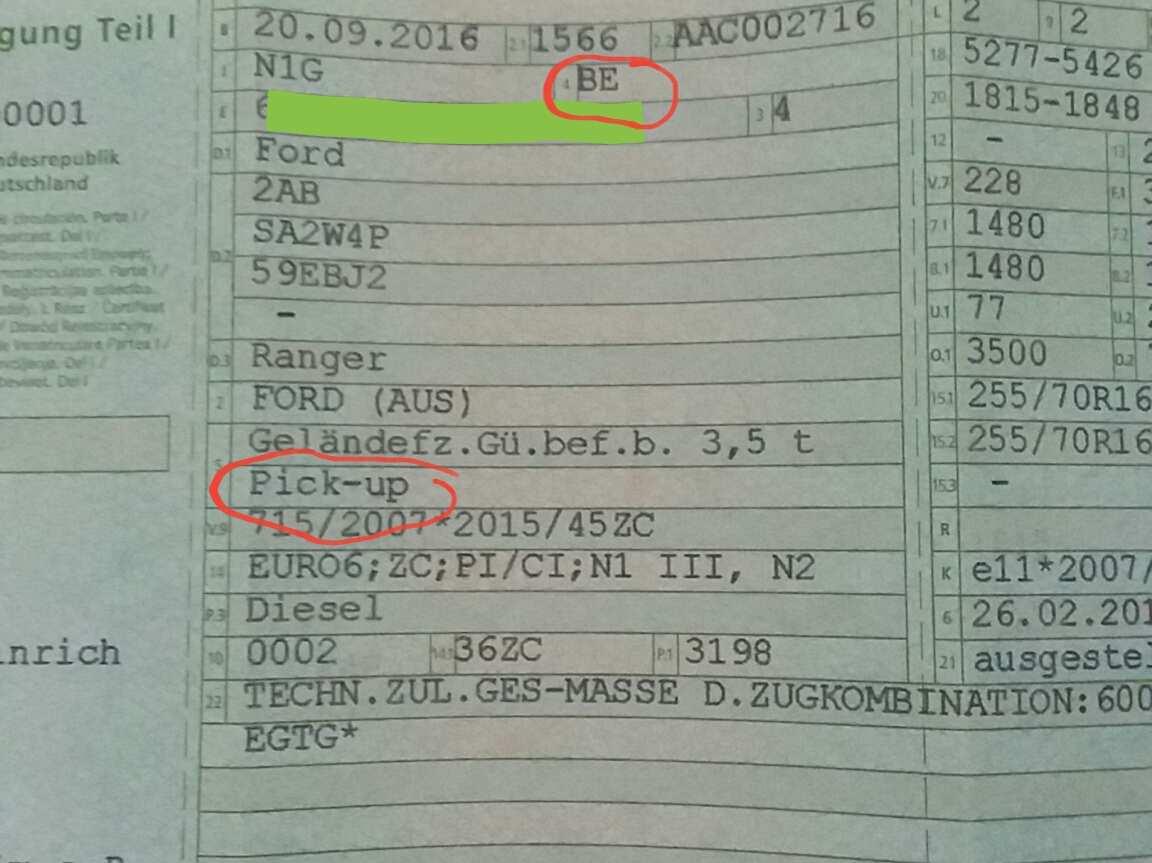 Ranger 12 Bj 12 Steuer Extracab Pkw Oder Lkw Seite 2