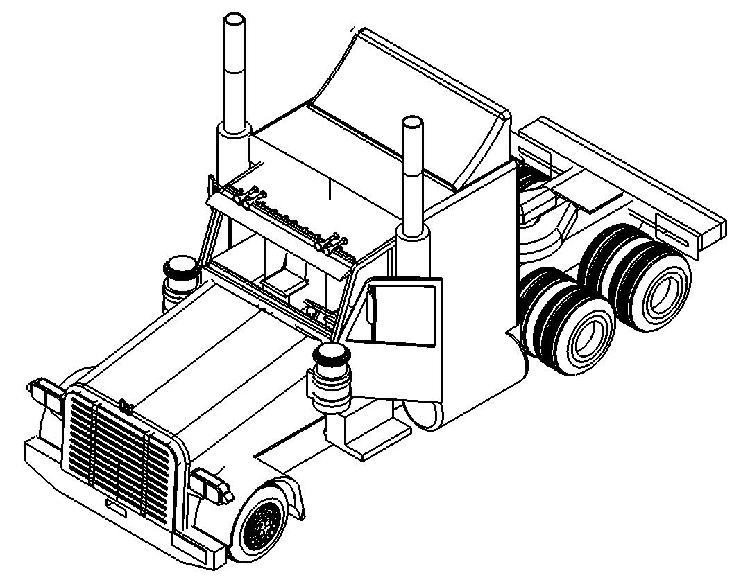 Lkw 3d Zeichnung Truck 3d Drawing Das Download Portal Fur Dxf Dwg Dateien
