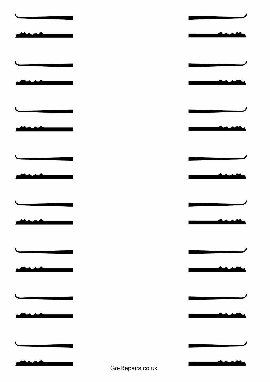 Free Lockpicks Template Diy Lock Lock Picking Tools Lock Pick Set
