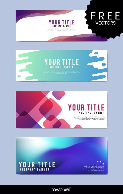 Laden Sie Kostenlos Moderne Business Banner Vorlagen Bei Rawpixel Com Herunter Banners Banner Design Inspiration Website Banner Design Web Banner Design