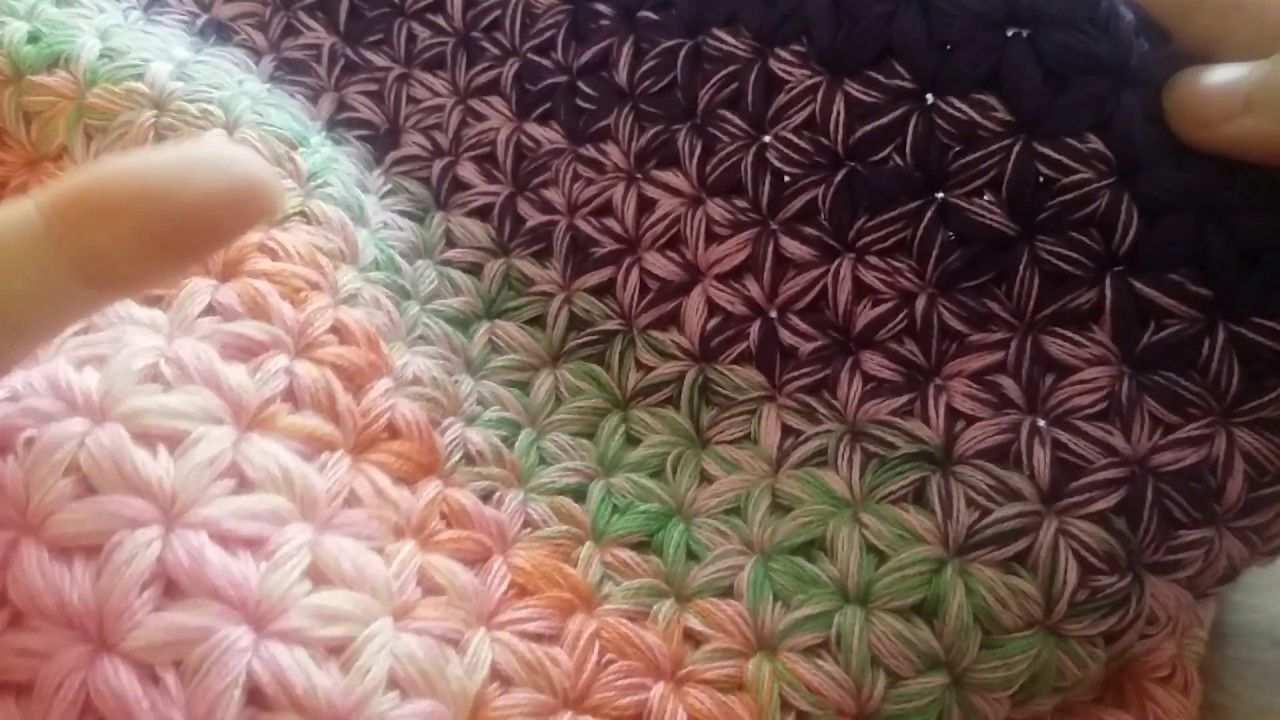 Hakelanleitung Fur Den Sternen Loop 1 Video Webtips Aus Dem Fluse Und Fussel Newsletter Knit Crochet Knitting Patterns Und Crochet