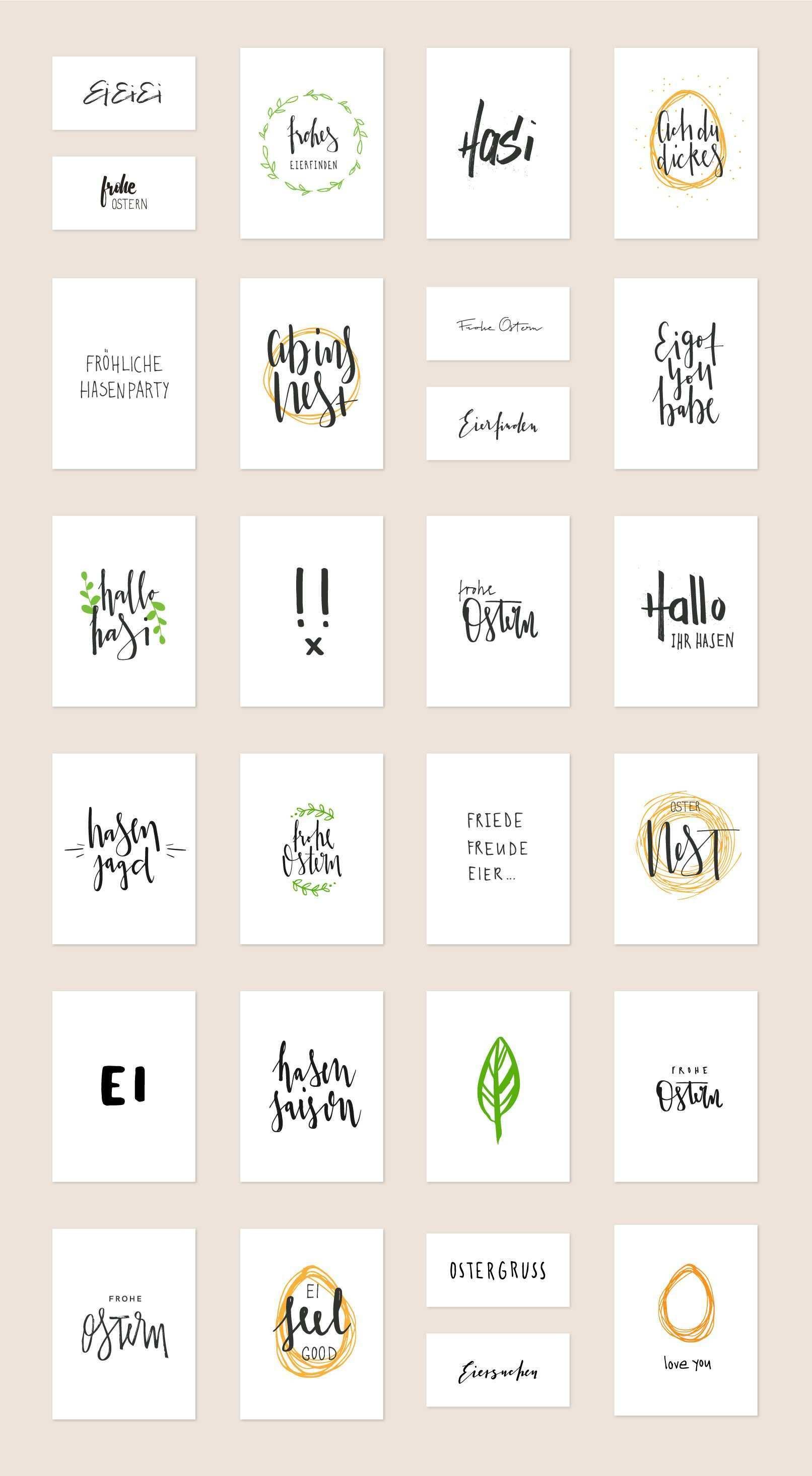 Fruhlingsfrische Handlettering Vorlagen Fur Frohe Ostern Download Frohe Ostern Karten Basteln Ostern Ostern Zeichnung