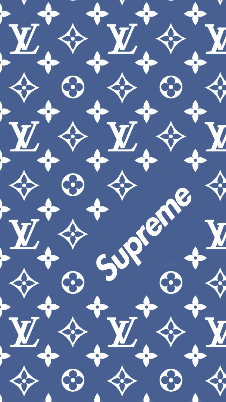 Louis Vuitton X Supreme Muster Wallpaper Supreme Iphone Wallpaper Supreme Wallpaper Money Wallpaper Iphone