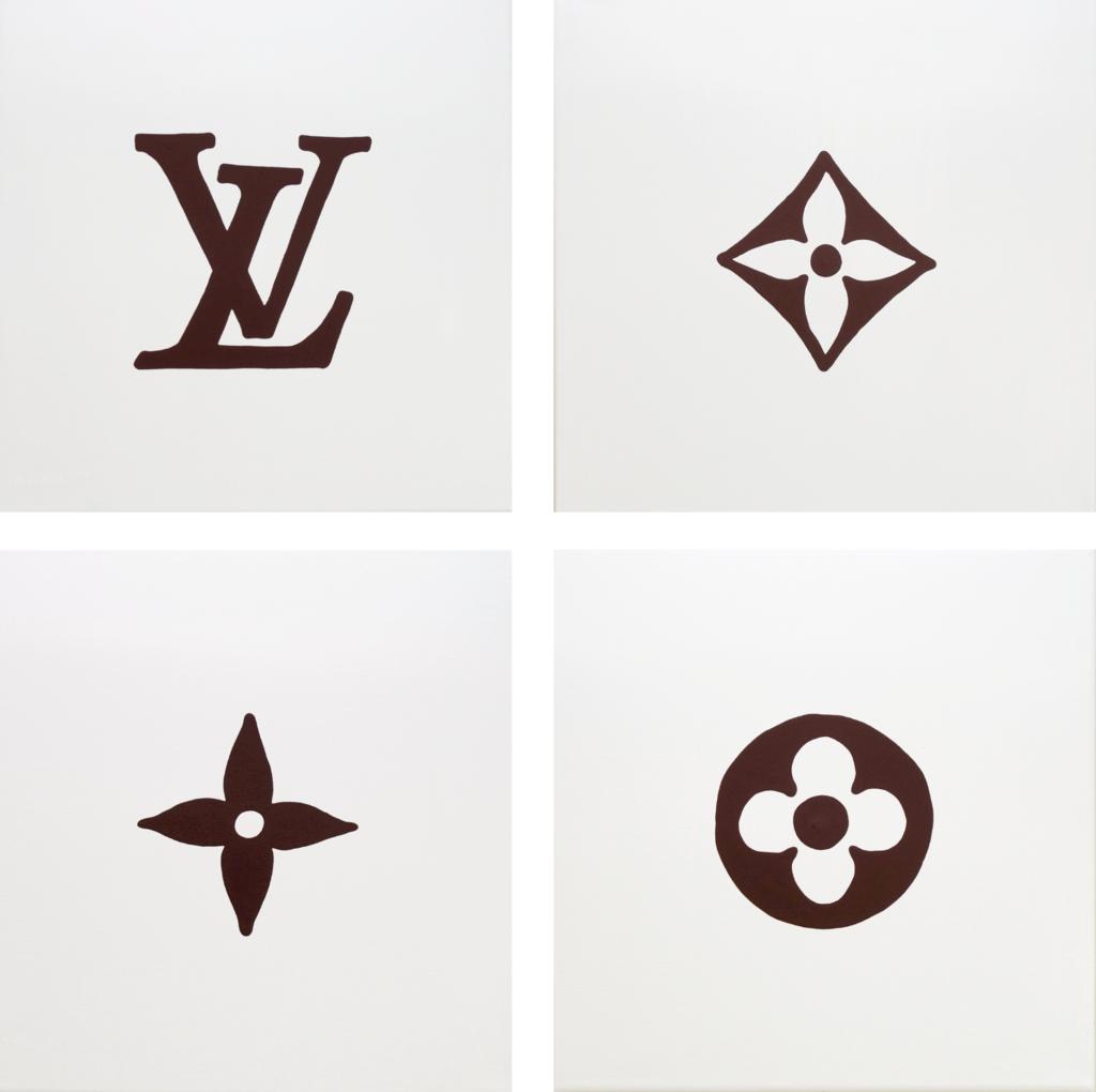 Louis Louis Brown Pop Art Canvas Louis Vuitton Tattoo Cricut Crafts